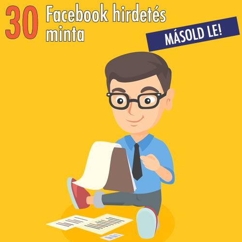 30 hirdetés minta