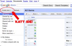 Google Docs űrlapkészítő használata