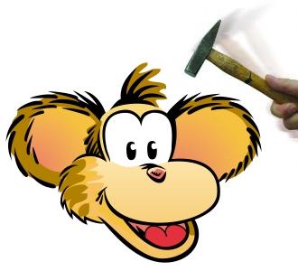 majom-es-kalapacs