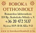 Merkl Gabriella, Boróka otthonbolt