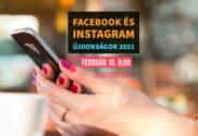 facebook és instagram marketing újdonságok